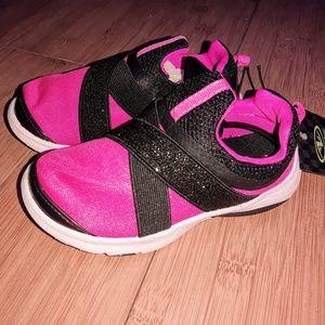 Athletic Work Slip-On Strap Glitter Shoe 8 9 10 11
